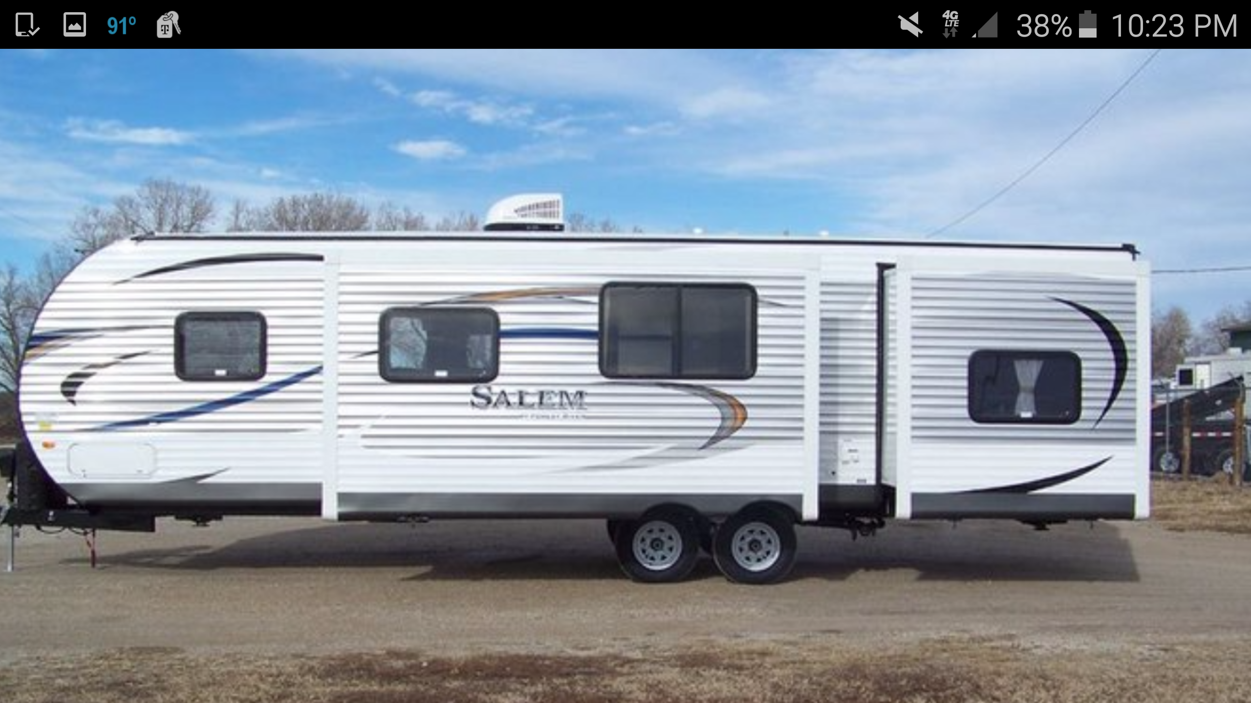 Salem 29QBDS , 29ft 2bdrm, 4 bunks 2016