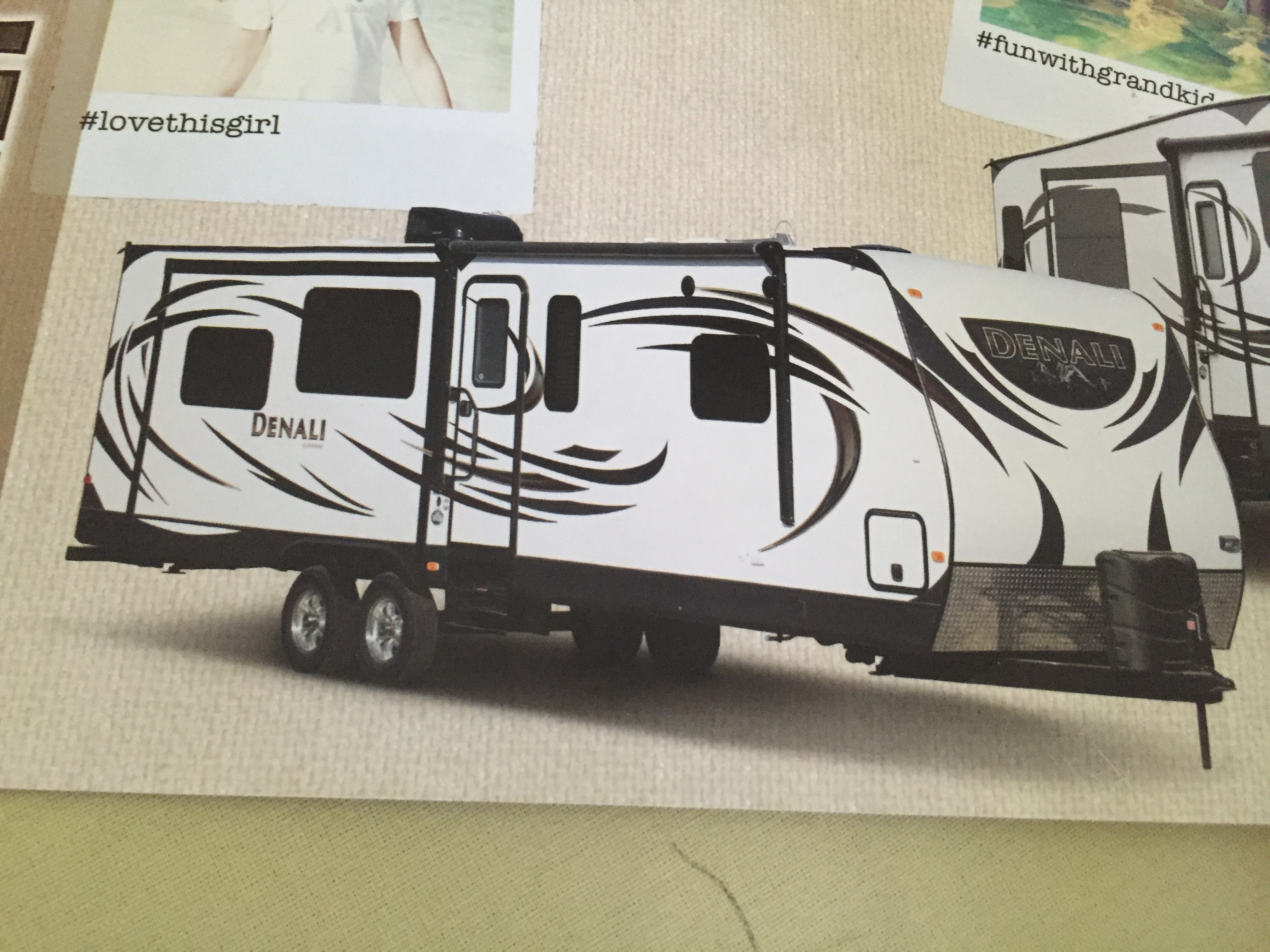 Dutchman Denali travel trailer 2015