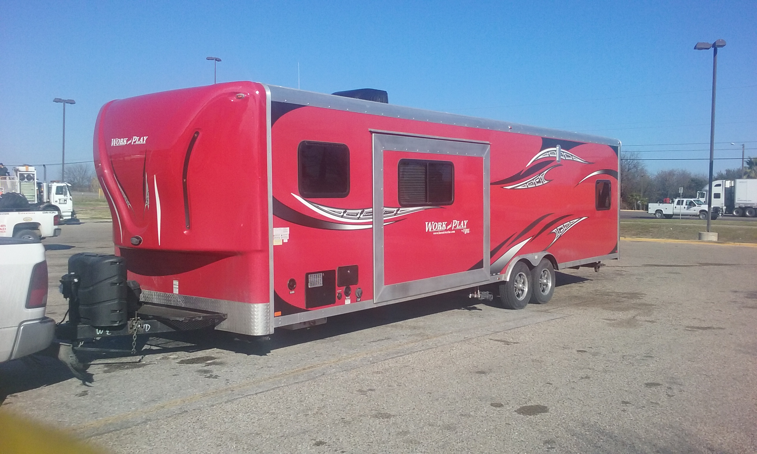 Work and play toy hauler 2014